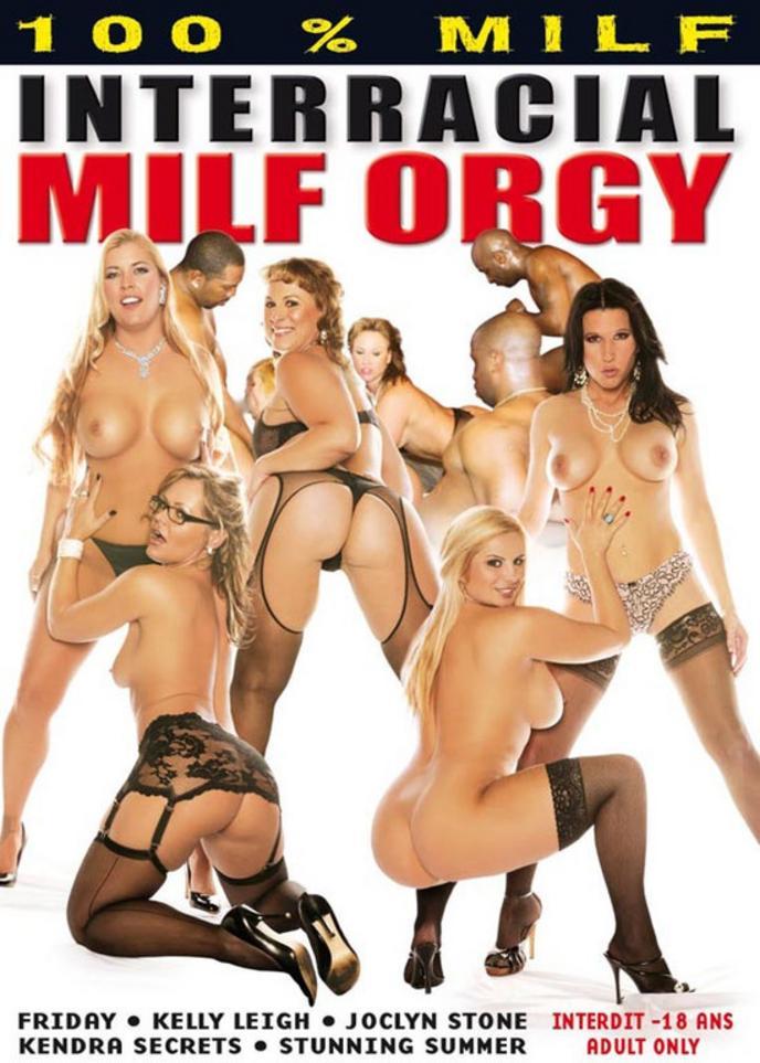 Interracial MILF porno pic