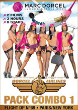 Xillimité - Pack Dorcel Airlines #1 : Flight DP69 + Paris/New York - Film Porno